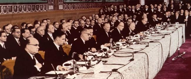 Histoire de la construction européenne depuis 1951