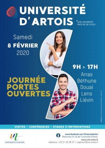 Université d'Artois : JPO 2020