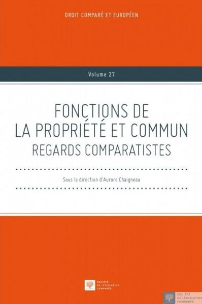 Fonctions de la propriété et commun