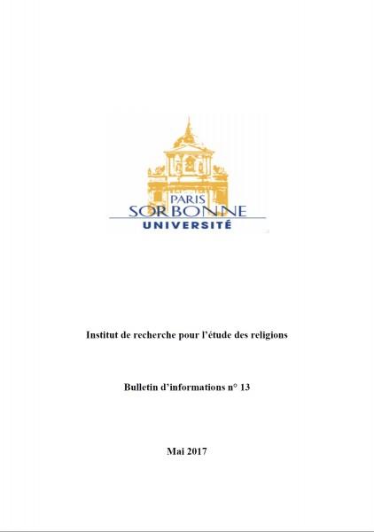 Bulletin de l'IRER - 13