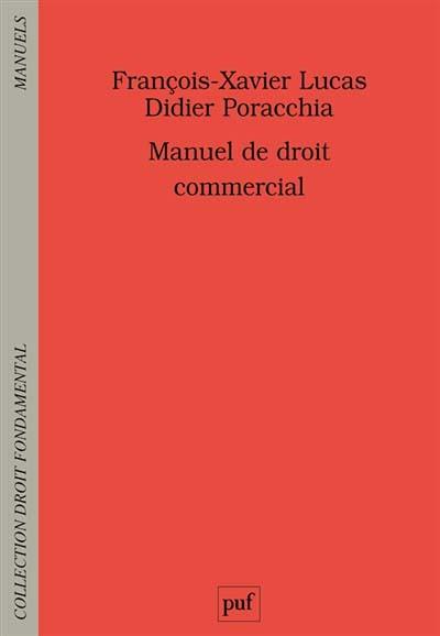 Manuel De Droit Commercial Portail Universitaire Du Droit