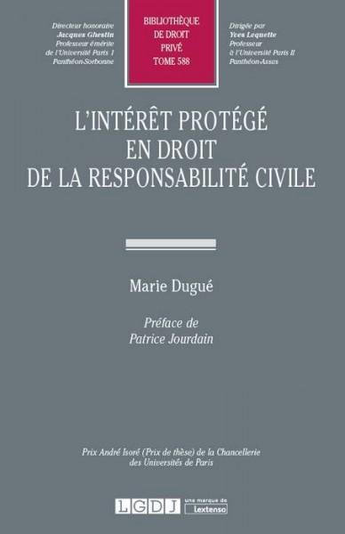 L Interet Protege En Droit De La Responsabilite Civile Portail