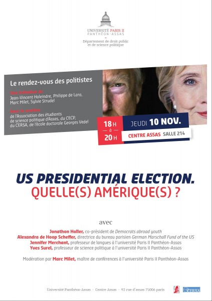 US Presidential election. Quelle(s) Amérique(s) ?