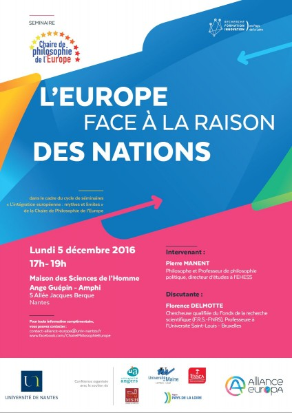 L'Europe face à la raison des nations