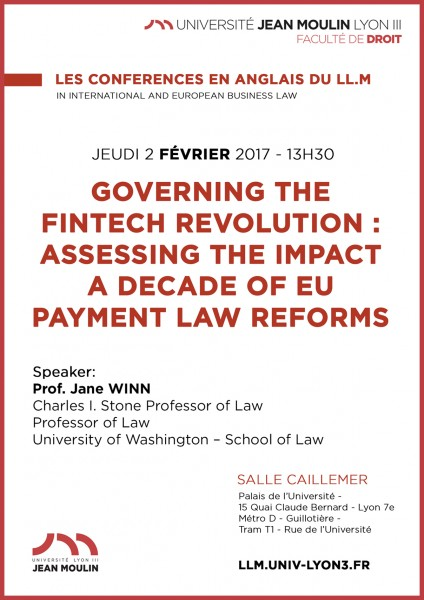 Governing the FinTech Revolution