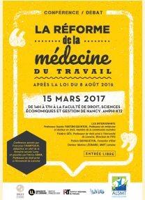 La Reforme De La Medecine Du Travail Portail Universitaire Du Droit