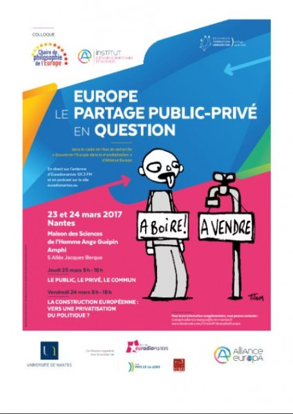 Europe. Le partage public - privé en question