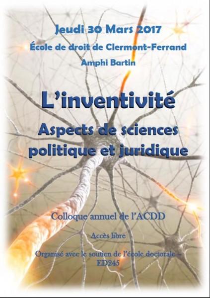 L'inventivité, aspects de sciences politique et juridique
