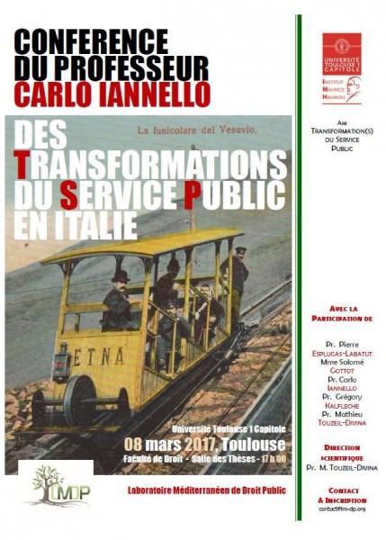 Des transformations du service public en Italie