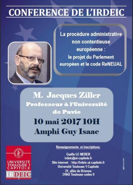 La procédure administrative non contentieuse européenne