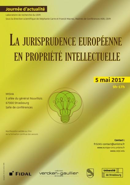 La jurisprudence européenne en propriété intellectuelle