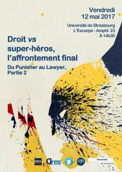 Droit vs super-héros, l'affrontement final