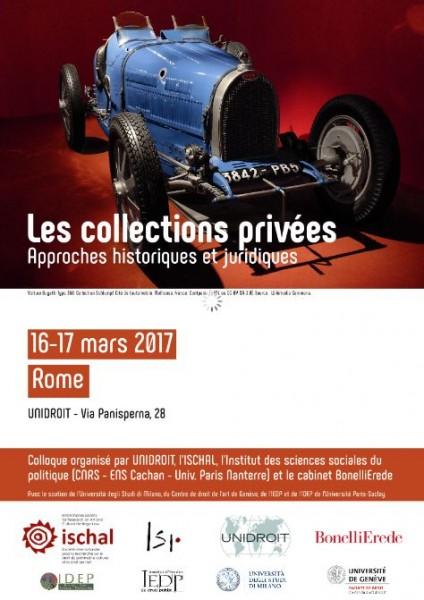 Les collections privées : Approches historiques et juridiques