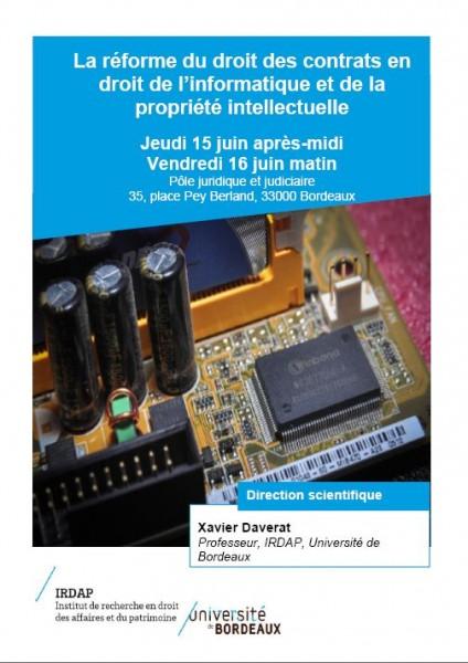 La réforme du droit des contrats en droit de l'informatique et de la propriété intellectuelle