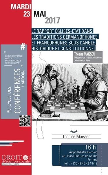 Le rapport Eglises-Etat dans les traditions germanophones et francophones sous l'angle historique et constitutionnel