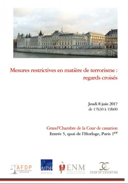 Mesures restrictives en matière de terrorisme : regards croisés