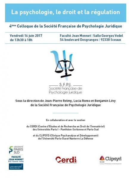 Psychologie, droit et régulation