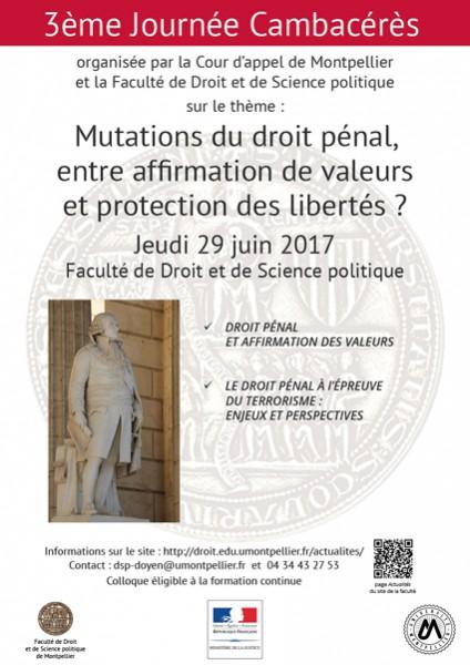 Mutations du droit pénal, entre affirmation de valeurs et protection des libertés