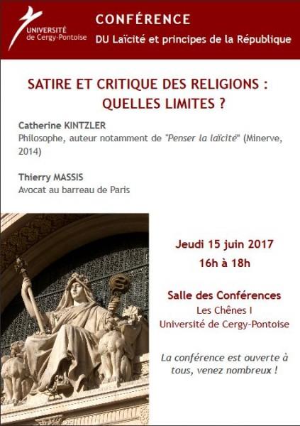 Satire et critique de la religion : quelles limites ?
