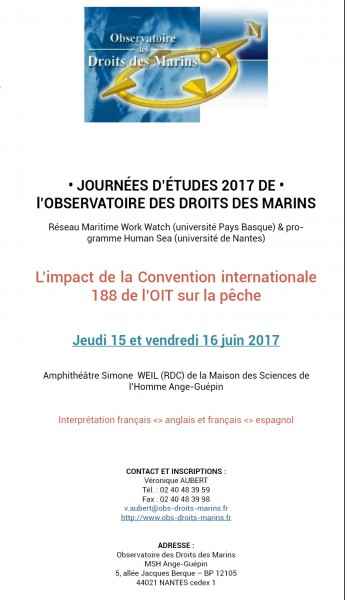 L'impact de la Convention internationale 188 de 2007 de l'OIT sur la pêche