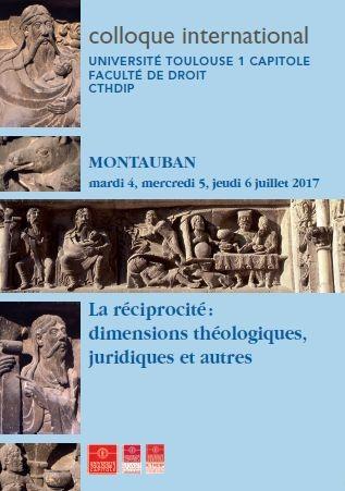 La réciprocité : dimensions théologiques, juridiques et autres