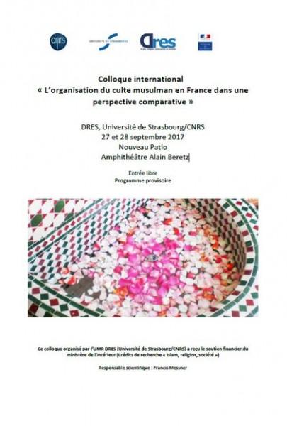 L'organisation du culte musulman en France dans une perspective comparative