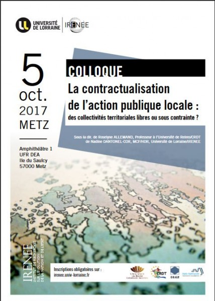 La contractualisation de l'action publique locale