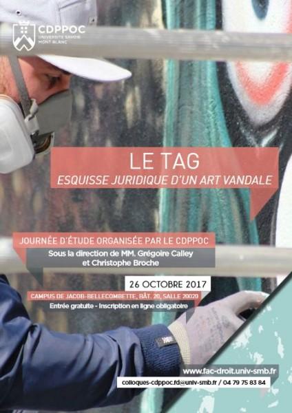 Le Tag, esquisse juridique d'un art vandale
