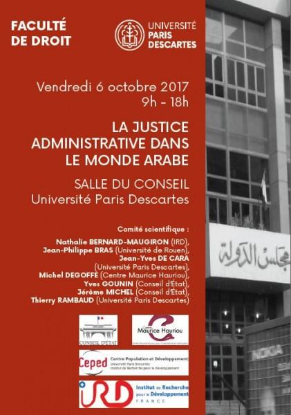 La justice administrative dans le monde arabe