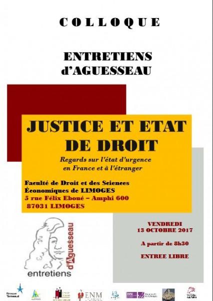 Justice et état de droit
