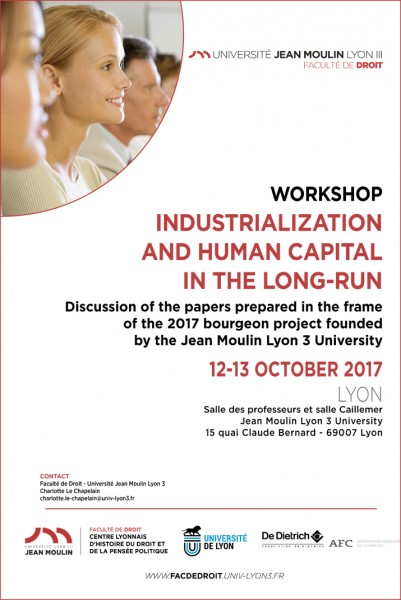 Industrialization and human capital in the long-run