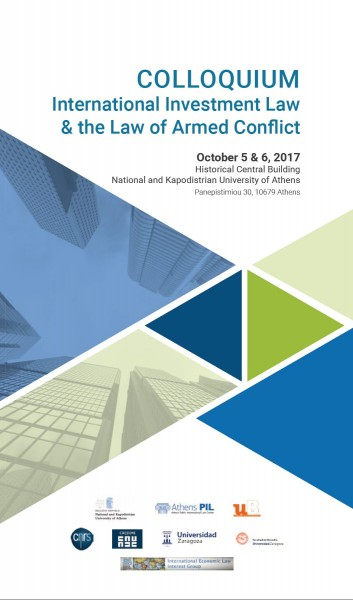 International investment law & the Law of Armed Conflict
