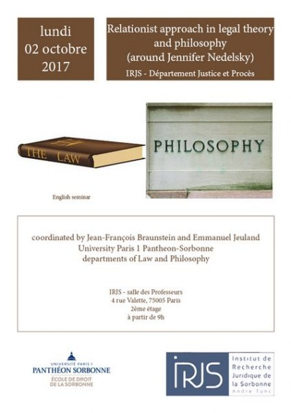 Relationist approach in legal theory and philosophy