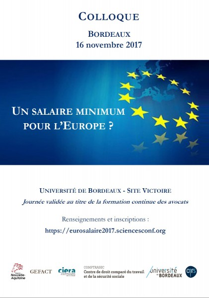 Un salaire minimum pour l'Europe ?