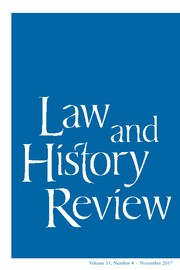 Legal History and Originalism: Rethinking the Special Relationship