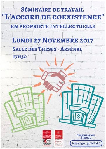 L'accord de coexistence en propriété intellectuelle