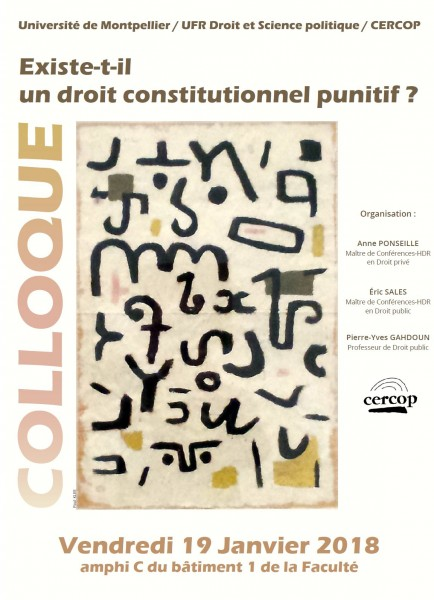 Existe-t-il un droit constitutionnel punitif ?