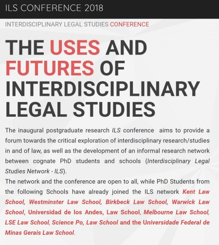 The Uses and Futures of Interdisciplinary Legal Studies