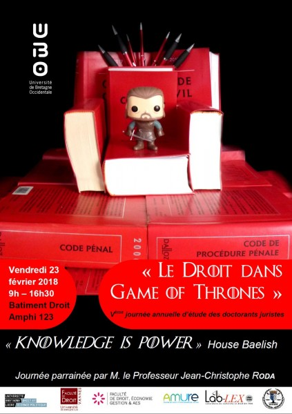 Le droit dans Game of Thrones