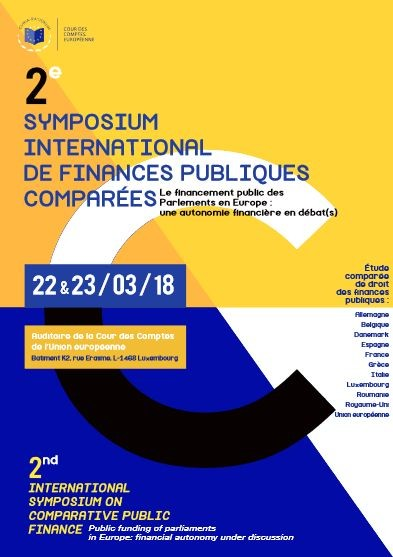 2e symposium international de finances publiques comparées