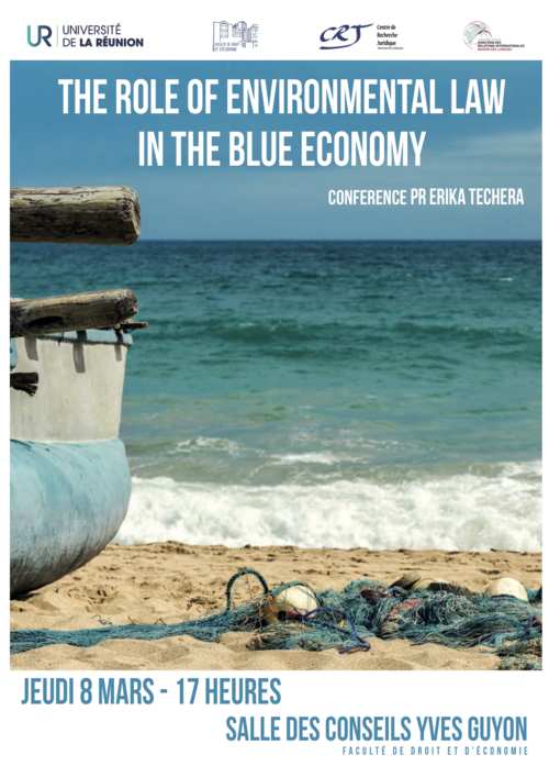 The role of environmental law in the blue economy