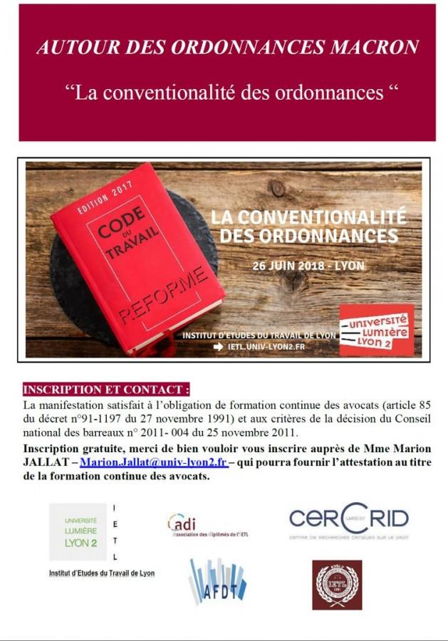 daec1557c13 La conventionalité des ordonnances - Portail Universitaire du droit