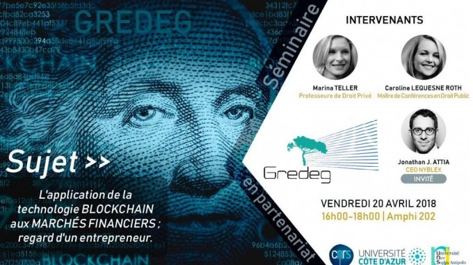 L'application de la technologie Blockchain aux marchés financiers : un regard d'entrepreneur