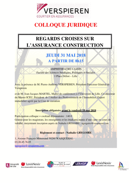 Regards croisés sur l'assurance-construction