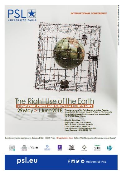The Right Use of The Earth
