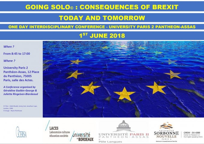 Going Solo : Consequences of Brexit Today and Tomorrow