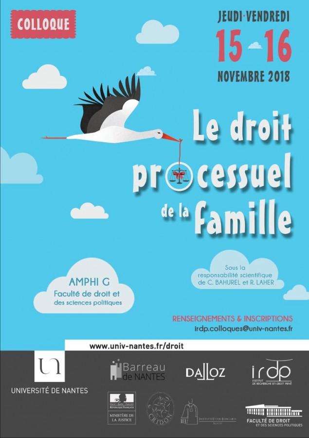 Calendrier Univ Nantes.Le Droit Processuel De La Famille Portail Universitaire Du