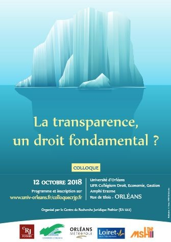 La transparence : un droit fondamental ?