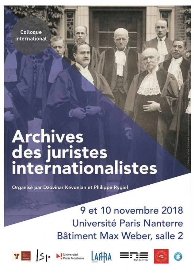 Archives des juristes internationalistes