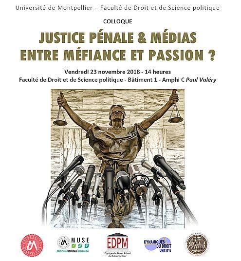 393ec92e0fb Justice pénale et médias   entre méfiance et passion   - Portail ...